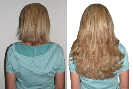 Cut your hair but are dying to try long hair styles? Get some extensions!!