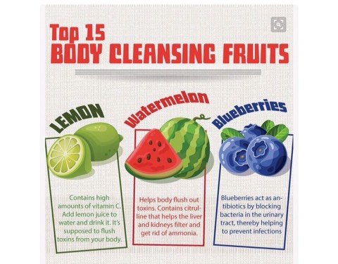 Top 15 Body Cleansing Fruits by Brooklyn Maciborski - Musely