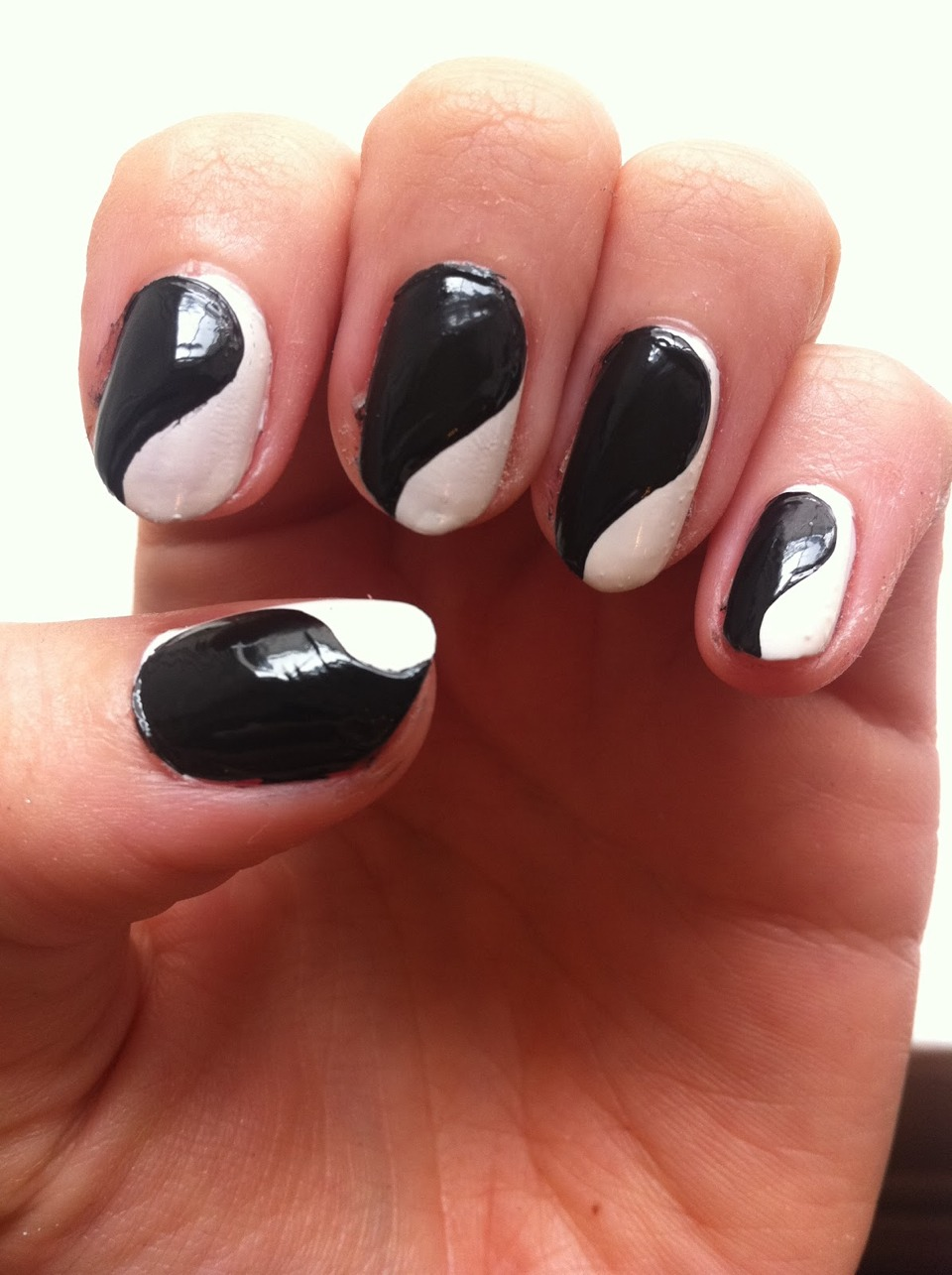 Your nails should look like this after words