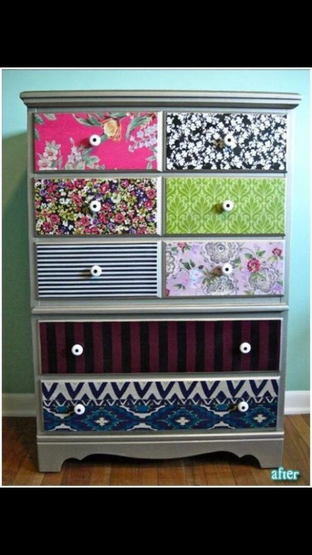 Decorate your dresser!