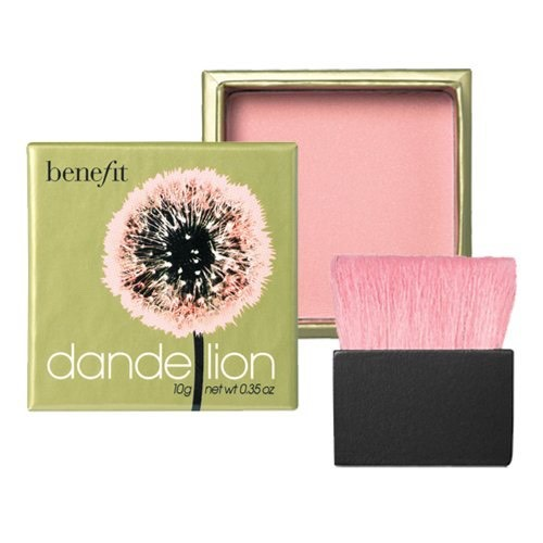 Benefits Dandelion gives the perfect pink flush. This is my personal go to blush.