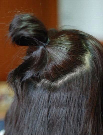hair styles buns put your hair up in a bun musely 9720