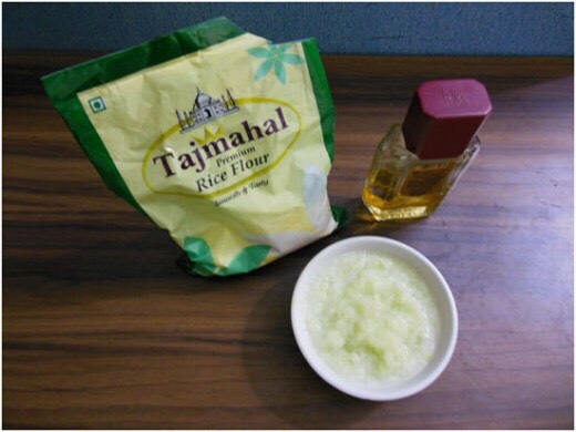 4. Cabbage and Rice Flour Mask