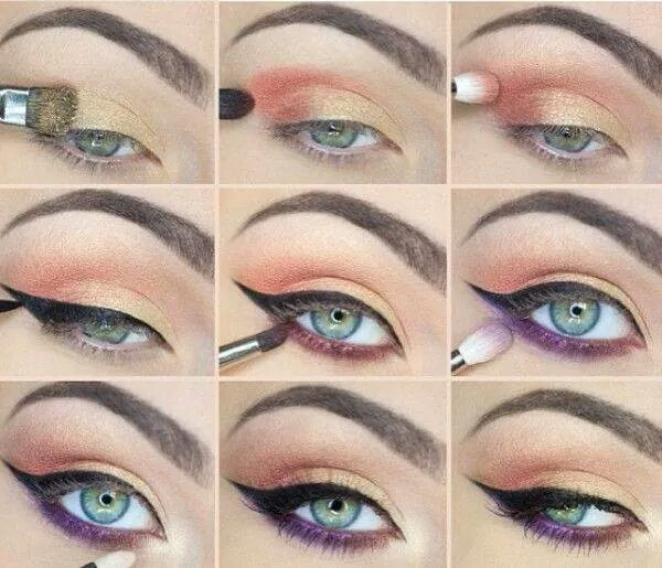 quick and easy summer eye makeup