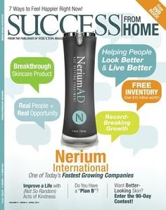 Youngest company to be featured in Success from Home magazine twice! Soon to be 3 times in less then 3 years!!