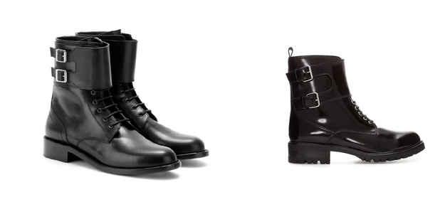 6. Saint Laurent/ Zara