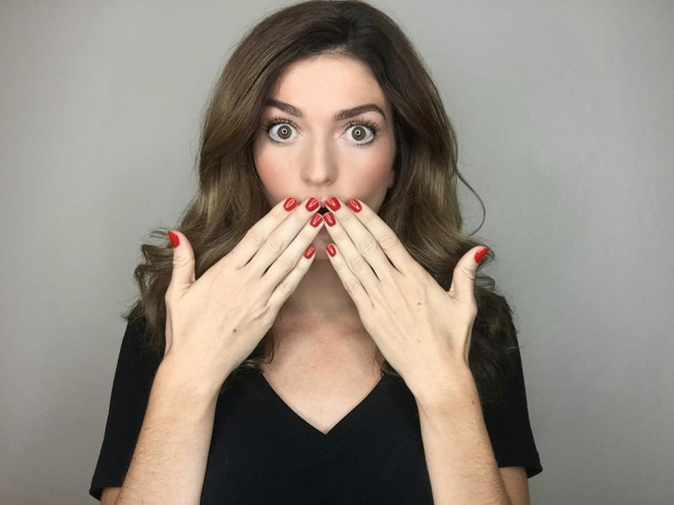 Step 5: Allow nails to dry completely (use blow dryer to speed up the process) to reveal your gorgeous non-toxic manicure!