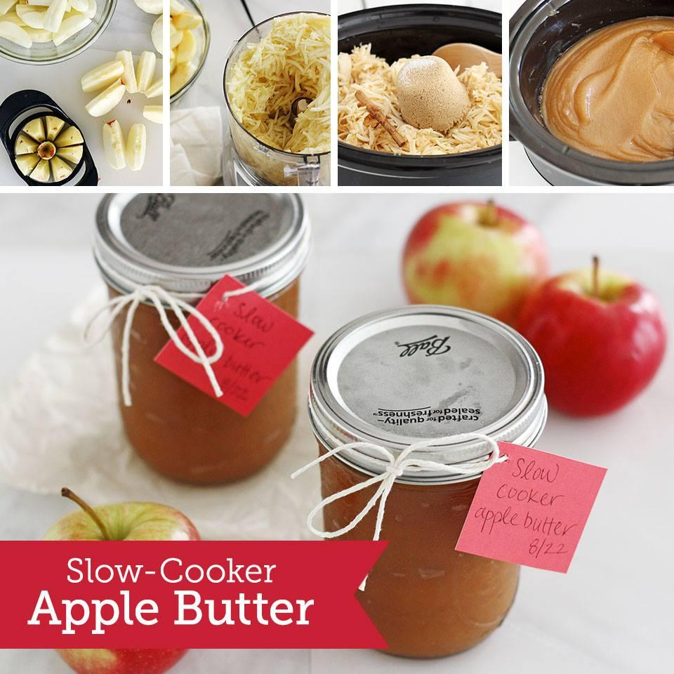 Rich, velvety apple butter you can literally make in your sleep.
