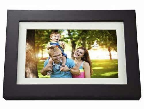 15. If you already have tons of great photos, get her a digital photo frame preloaded with family pictures.