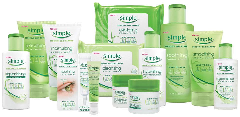 As for skincare, Simple is your new best friend! They have a very large variety of products, and without the use of harsh unnecessary chemicals, your skin will thank you for it! I'm yet to find a product that you can't pick up for less than £5.