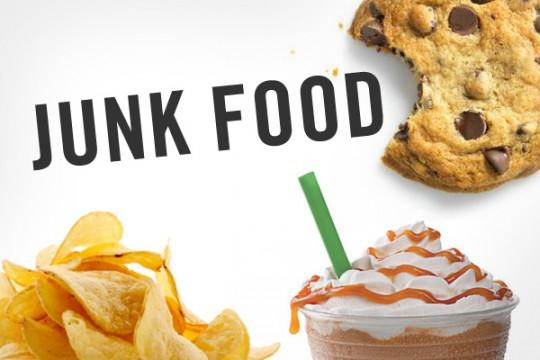 DONT eat junk food and eat nutritious!