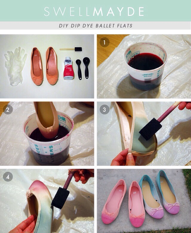Give your shoes a makeover :)