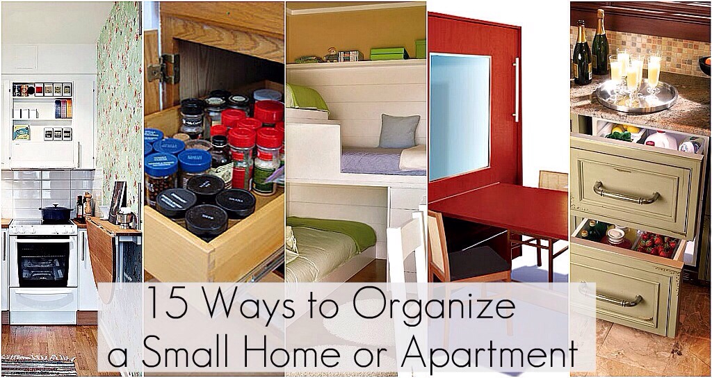 Just because you have a small space doesn't mean it can't be organized. And having a small home means it's extra important to make the most of your space. There are some great ways to make a small space both functional and attractive.