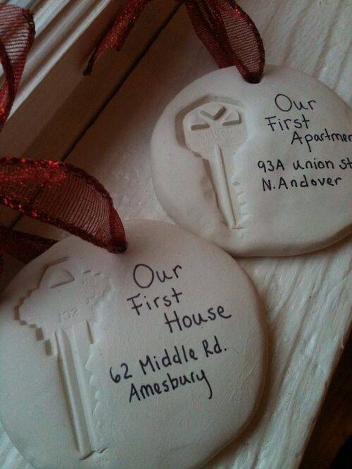 Press your keys into clay to document all he homes you've lived in :)