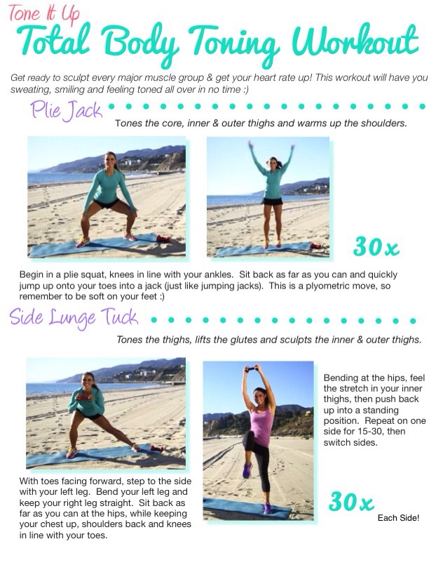 Next three pics are apart of this workout.