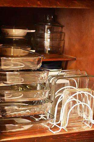 or glass containers