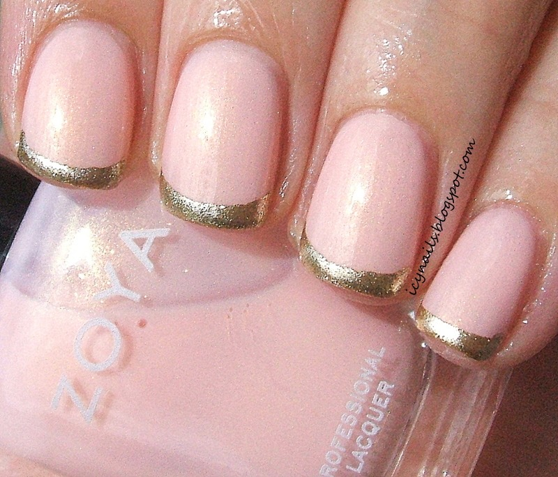 And then they should end up like this! And then if you want you can paint over it with clear nail polish when its dry.😋
