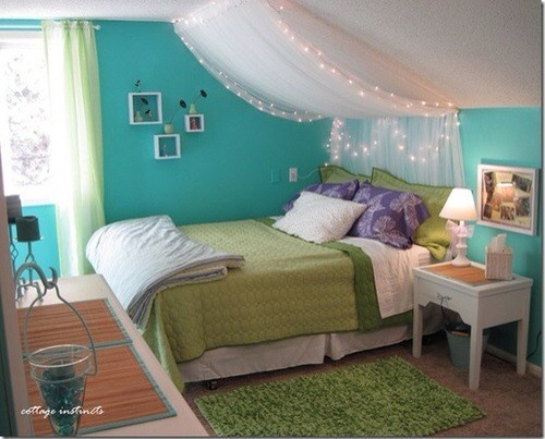 Put a canopy over your bed 😃