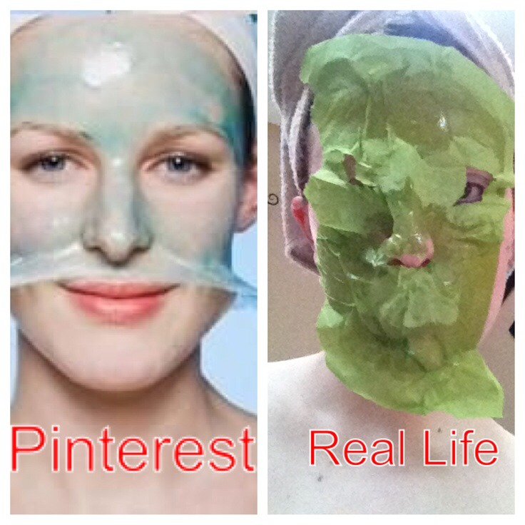 mix egg white and apply on face (leave on for 5-10 minutes, until hard, and then wash it off)