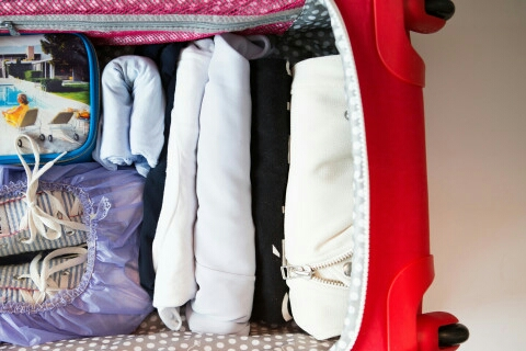 Roll your clothes instead of folding them... you will be able to fit more!