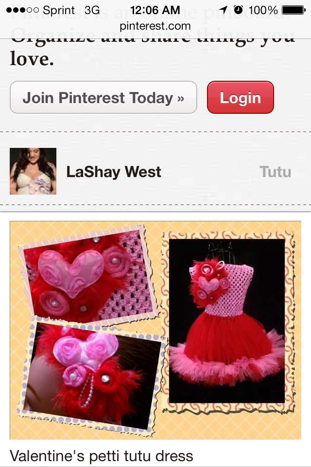 This tutu dress was share even on Pinterest