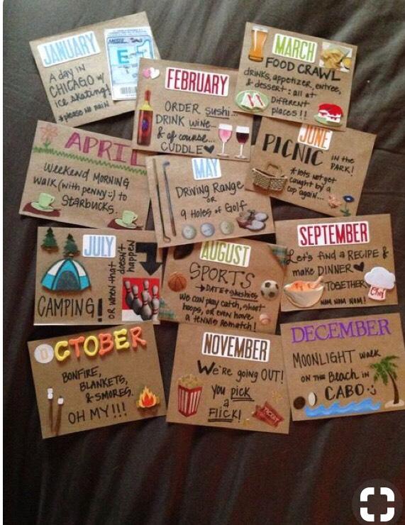 Fun date gift ideas