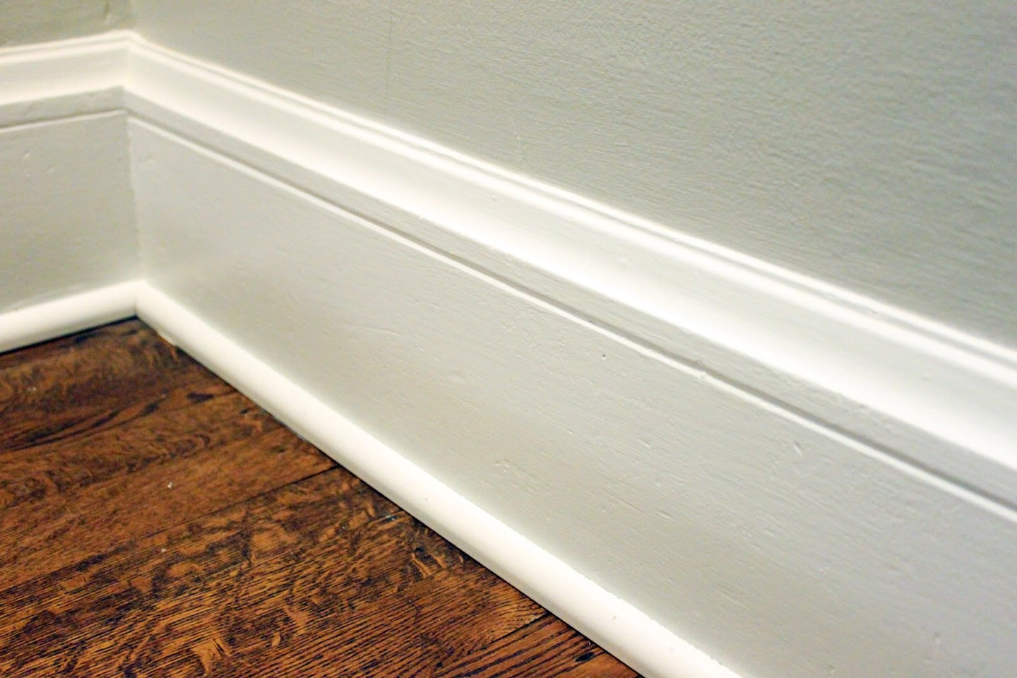 Baseboards. Scrub these puppy's down! Dust and dirt accumulate on these very quickly. Sometimes slapping a fresh coat of paint after you clean it can make it look like new. But most times you won't need that and just cleaning will do. I use dawn dish soap, water, and a used dryer sheet. Works great!