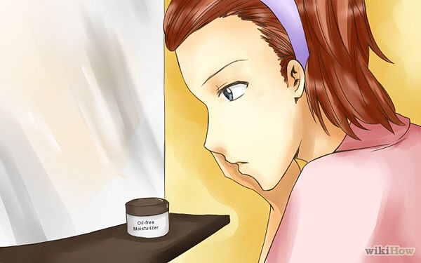 Add oil free moisturizer