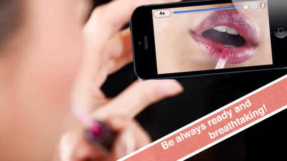 5. Mirror is an app that turns your front-facing camera into a mirror that's actually usable.