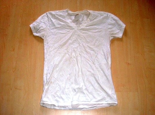 I know, an old t-shirt.. weird hey? but I dry my hair with this, your hair is so fragile when wet and if you put a towel on it, the ends will split easier and it may cause a lot of hair growth problems. I use a t-shirt instead.