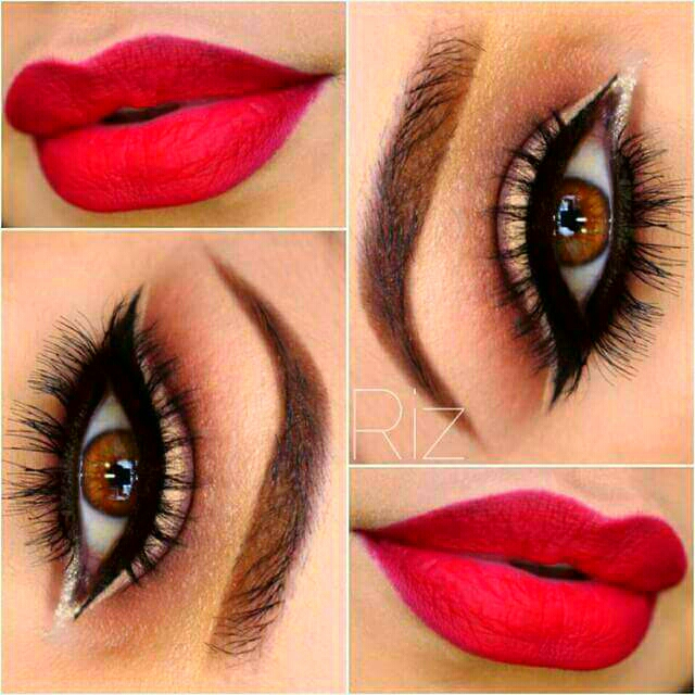 Beautiful Make-up for Brown Eyes