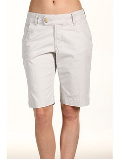 Bermuda shorts can be this long as well.