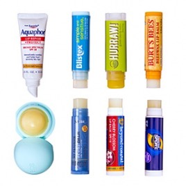First off I like to apply a thick-ish coat of my favorite lip balm before bed, this helps my lips stay hydrated while a sleep and easier for me to take care of them when I get ready for work