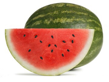 4. Watermelon The properties of watermelon fill you up without calories