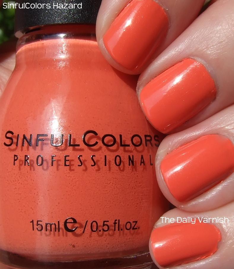 Sinful Colors Hazard