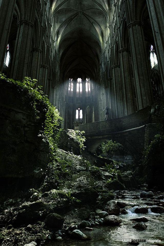 St. Etienne church in Paris, France