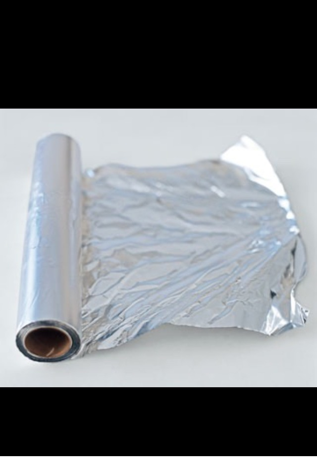 Wrap the dip dye in tin foil and leave for 30 minutes