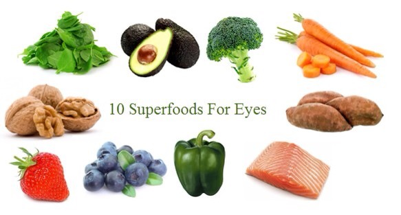 4. Enjoy the fruits of the garden.  Always prefer a diet full with fruits and vegetables, because the studies have found that proper intake of anti-oxidant lutein and zeaxanthin helps to reduce the risk of eye conditions like cataracts and macular.