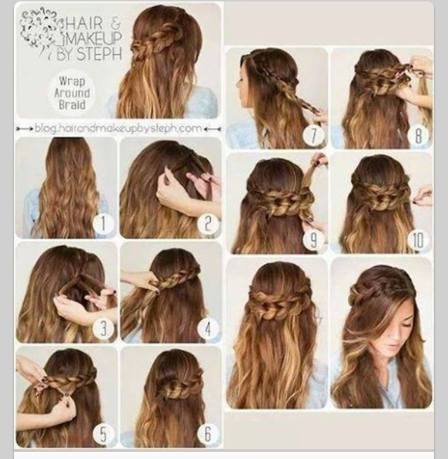 Simple But Elegant Hairstyle How To Do By Emily Brewer Musely
