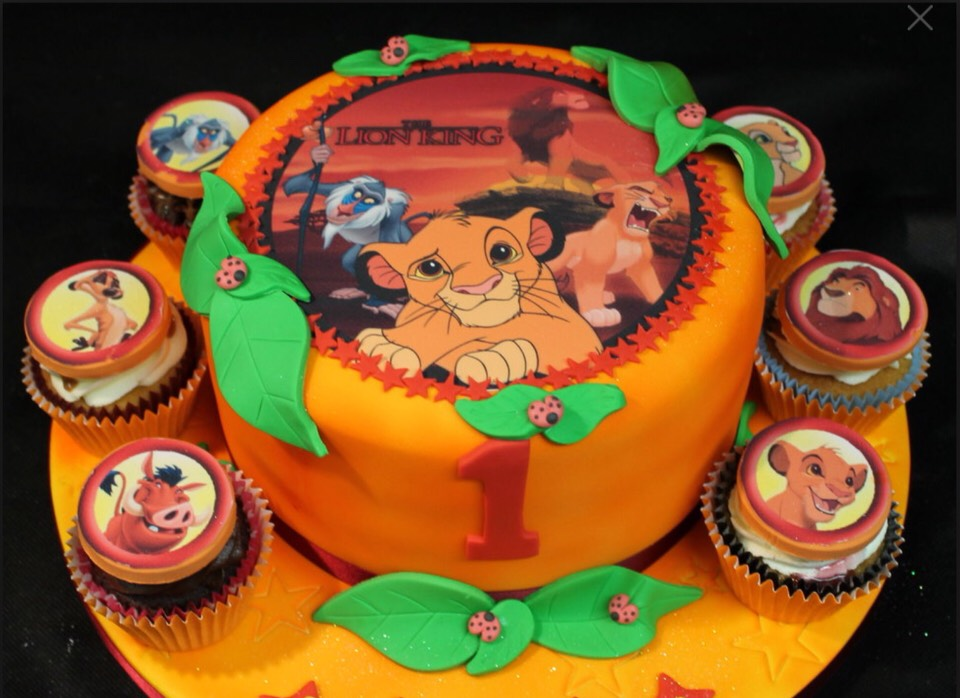 Or this lion king cake as its one of my favourite films 👌