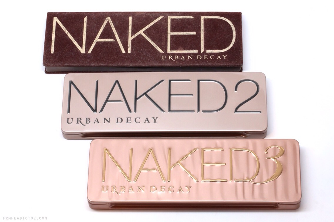 Now for the Urban Decay Naked Palette dupes...