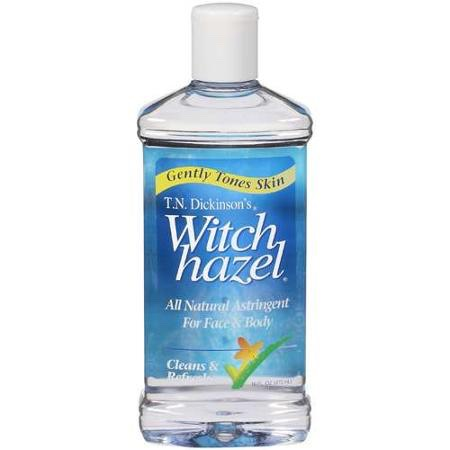 Witch hazel is great to use for the eyes and if you are sensitive just use less of it!     You need 2tbs of this or half if you are very sensitive.