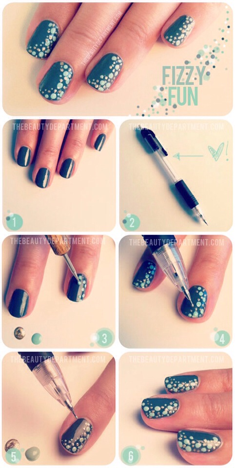 Musely mechanical pencil nail art super simple prinsesfo Gallery