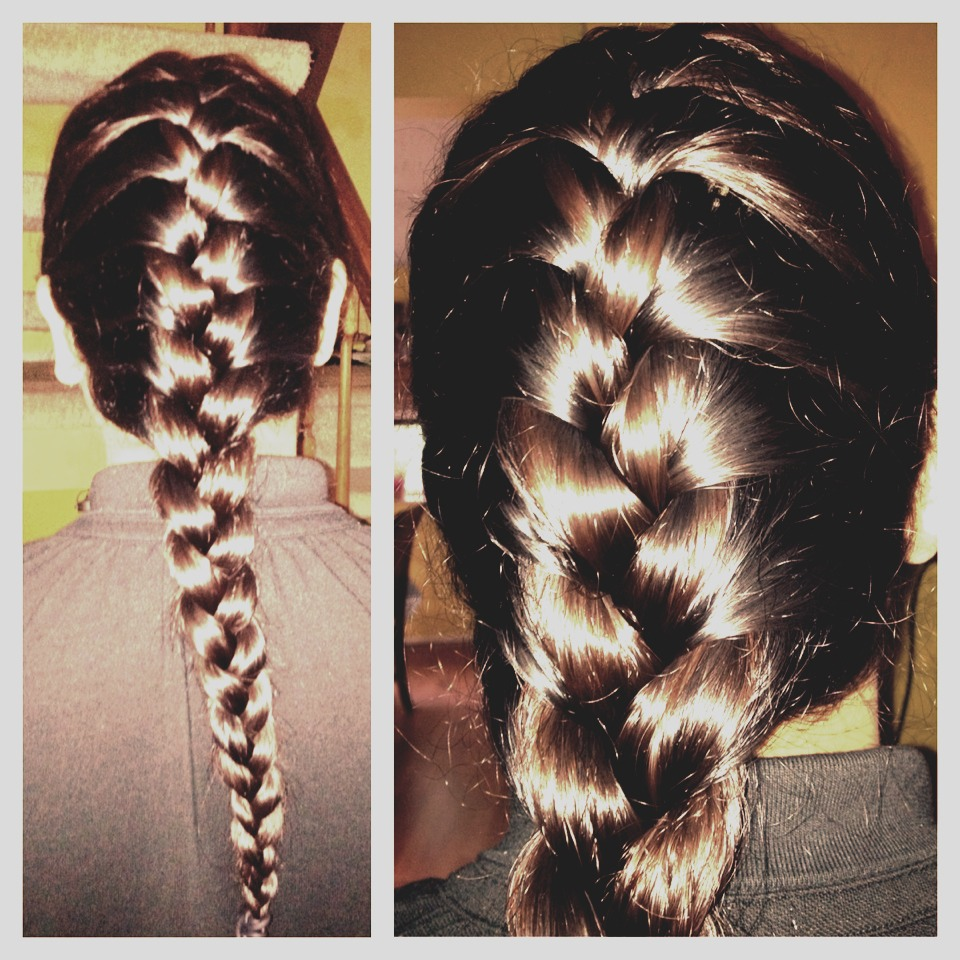 braiding hair helps keep the hair looking healthy, and hair won't be tangled when you take it out- instead you will be left with beautiful waves. also, it has been said that wearing your hair in a braid instead of a ponytail/bun at night helps with hair growth.