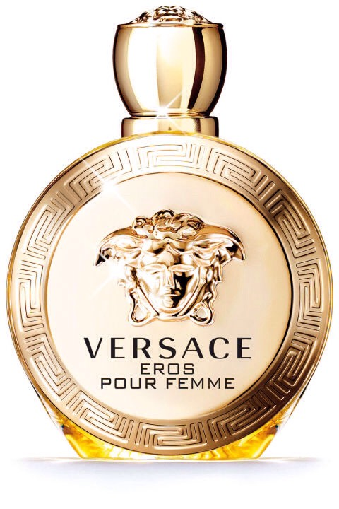 The notes: lemon, bergamot, pomegranate, jasmine, peony, sandalwood  It smells like: Vacation along the Mediterranean coast—crisp, summery and with just the right amount of opulence.  Versace Eros Pour Femme, $92, sephora.com.