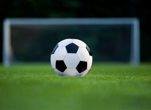Next up, soccer! You don't even need to know how to play, just kick the ball around with your friends and try to get it in the goal! This will help burn extra fat and tone your muscles which is perfect before summer time for bathing suits and crop tops ❤️ just have fun!