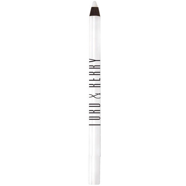 So first taking a white lip liner you just want to put it all over your lips to create a blank canvas.