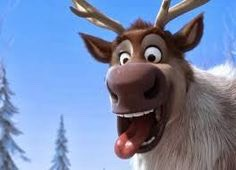 They modeled the reindeer, Sven, after Executive Producer John Lasseter's dog, Frankie! They actually brought in a real reindeer, but he just stood there and didn't move.