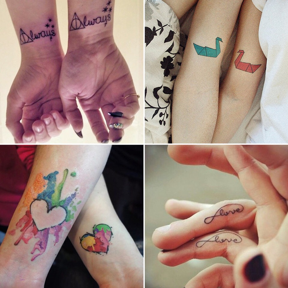 couples matching tattoos - HD 1024×1024