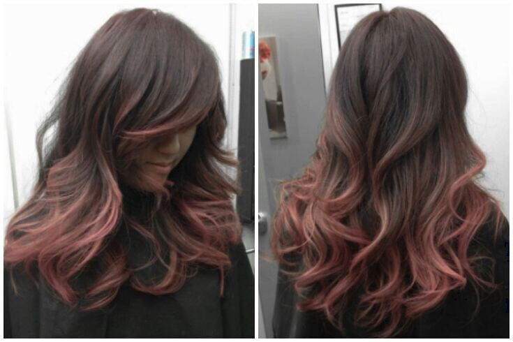 Soft pink makes any girl's hair look innocently gorgeous!!
